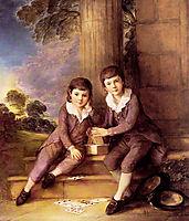 John and Henry Trueman Villebois, c.1783, gainsborough