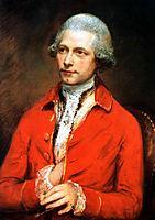 John Joseph Merlin, 1782, gainsborough