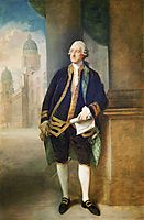 John Montagu,  4th Earl of Sandwich, gainsborough