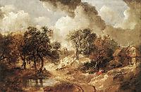 Landscape in Suffolk, c.1750, gainsborough