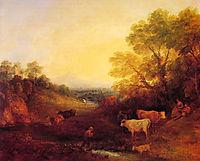 Landscape with Cattle, c.1773, gainsborough