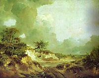Landscape with Sandpit, c.1747, gainsborough