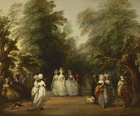 The Mall in St. James-s Park, 1783, gainsborough