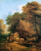 The market cart, 1786, gainsborough