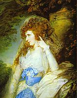 Mary, Lady Bate Dudley, 1787, gainsborough