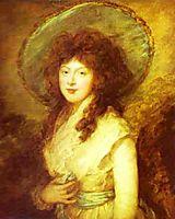 Miss Catherine Tatton, 1785, gainsborough