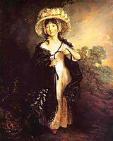 Miss Elizabeth Haverfield, c.1782, gainsborough