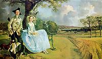Mr. and Mrs. Andrews, 1749, gainsborough