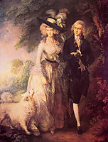 Mr. and Mrs. William Hallett (The Morning Walk), 1785, gainsborough
