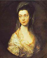 Mrs. Christopher Horton, later Anne, Duchess of Cumberland, 1766, gainsborough