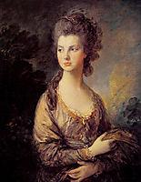Mrs. Graham, c.1775, gainsborough
