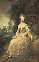 Mrs. Mary Robinson (-Perdita-) , 1781, gainsborough