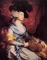 Mrs. Sarah Siddons, the actress, 1785, gainsborough