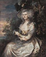 Mrs. Thomas Hibbert, gainsborough