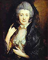 Nee Margaret Burr, c.1778, gainsborough