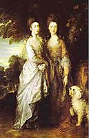 The Painter-s daughters, 1770, gainsborough