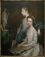 Portrait of the Artist-s Daughters, gainsborough