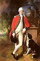 Portrait Of Colonel John Bullock, gainsborough