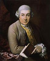 Portrait of David Garrick, 1770, gainsborough