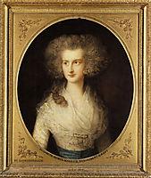 Portrait of Elizabeth Bowes, gainsborough