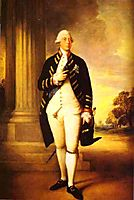 Portrait of George III, 1781, gainsborough