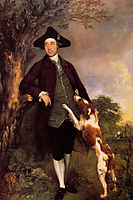 Portrait of George Venables Vernon, 2nd Lord Vernon, 1767, gainsborough