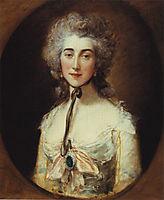 Portrait of Grace Dalrymple Elliott, c.1778, gainsborough