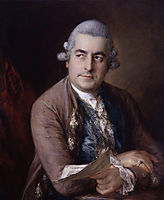 Portrait of Johann Christian Bach, 1776, gainsborough