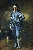 The Blue Boy (Portrait of the Jonathan Buttall), 1770, gainsborough