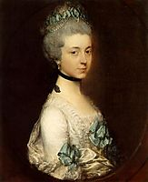 Portrait of Lady Elizabeth Montagu, Duchess of Buccleuch and Queensberry, gainsborough