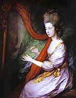 Portrait of Louisa, Lady Clarges, 1778, gainsborough