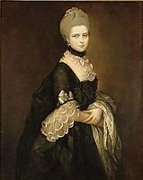 Portrait of Maria Walpole, Countess of Waldegrave, later Duchess of Gloucester, gainsborough