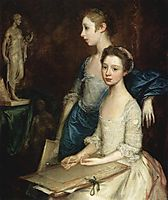 Portrait of the Molly and Peggy, c.1760, gainsborough