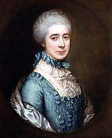 Portrait of Mrs. Awse, 1767, gainsborough