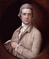 Portrait of Thomas Linley, gainsborough