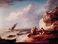 Rocky Coastal Scene, 1781, gainsborough
