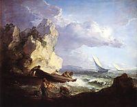 Seashore with Fishermen, c.1782, gainsborough