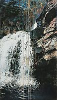 Mäntykoski Waterfall, 1893, gallenkallela