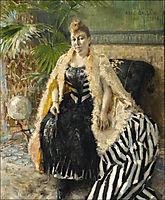 Parisienne , 1888, gallenkallela