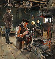 Rustic life , 1887, gallenkallela