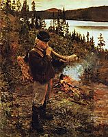 Shepherd Boy from Paanajärvi , 1892, gallenkallela