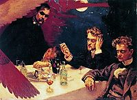 Symposium, 1894, gallenkallela
