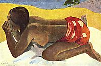 Alone, 1893, gauguin