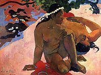 Are You Jealous?, 1892, gauguin