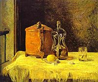 At the Window, 1882, gauguin