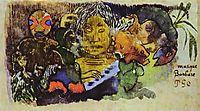 Barbarian music, 1893, gauguin