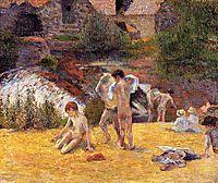 Bathing Place , 1886, gauguin