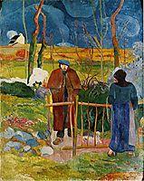 Bonjour, Monsieur Gauguin, 1889, gauguin