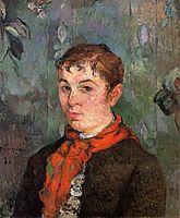 The boss-s daughter, 1886, gauguin