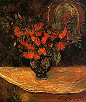 Bouquet, 1884, gauguin